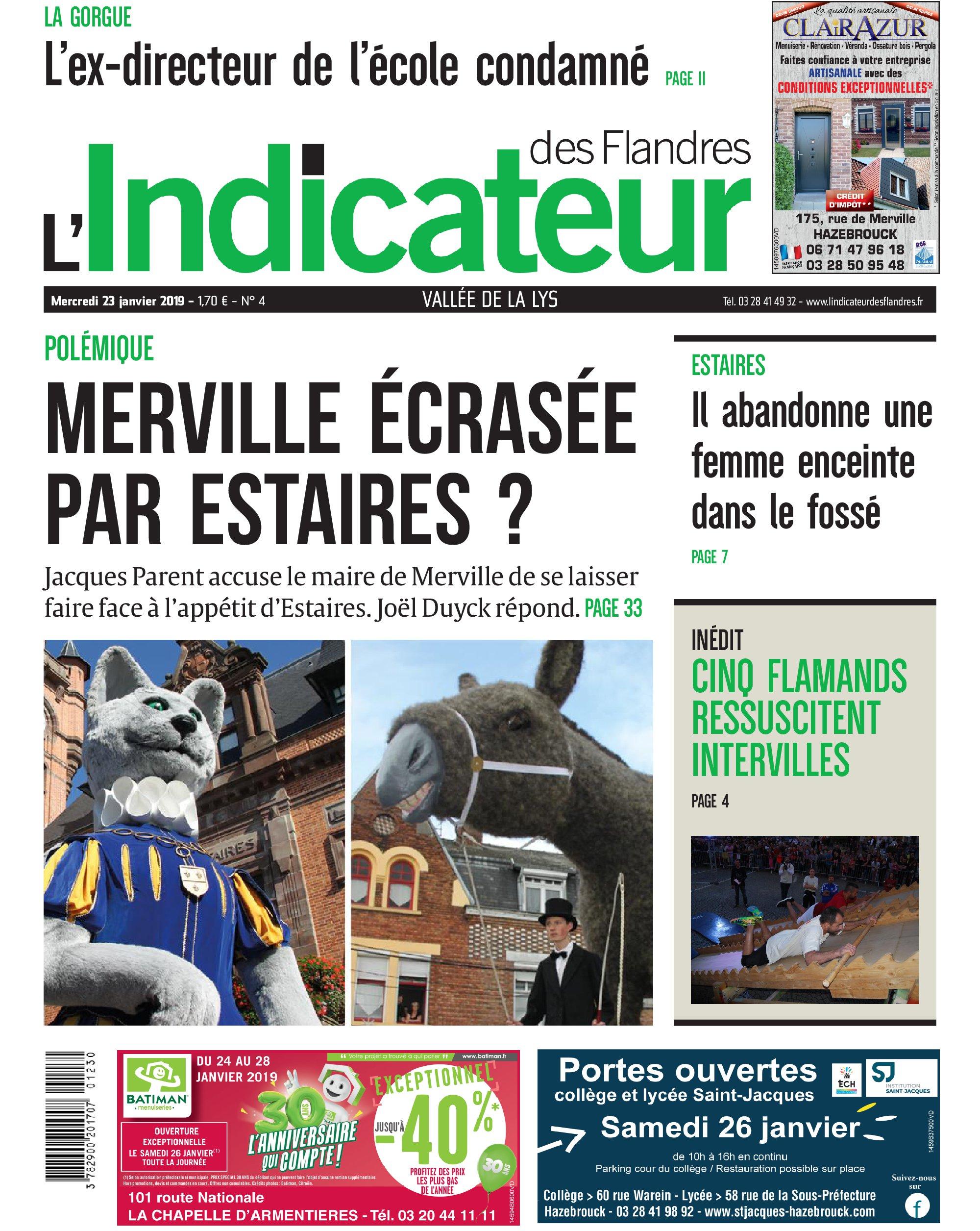 1d6e2c26c914c Jacques Parent accuse le maire de Merville de se laisser faire face à l ...